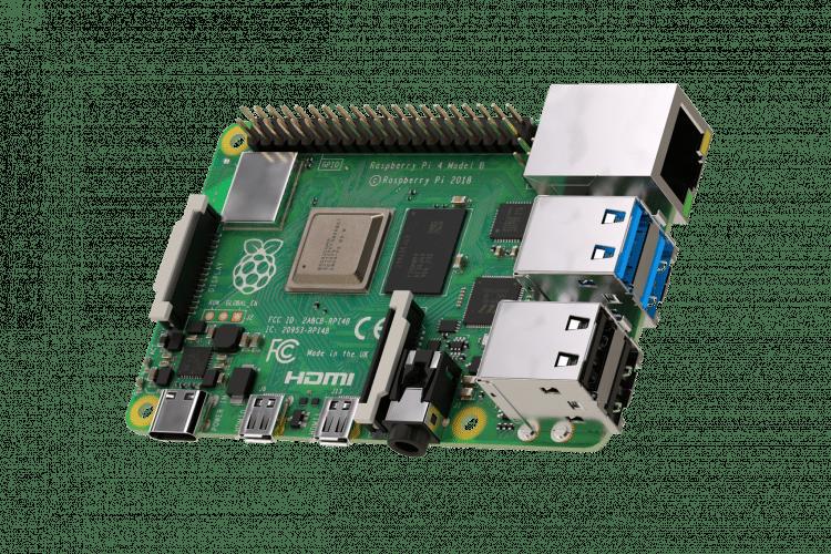 Raspberry Pi 4 B Board